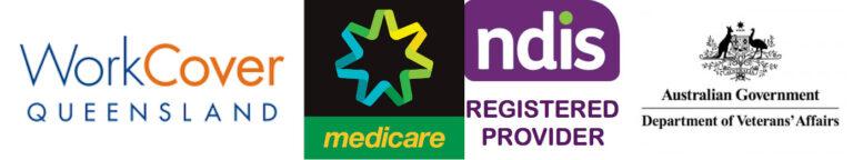 NDIS Registered, Bulk Billing, DVA, Work Cover, Private